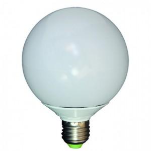 Globe LED bulb of 15W E27 thread