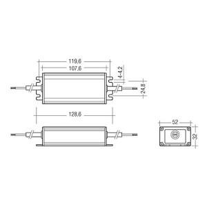 Fuente de alimentación 12V IP67 - Tridonic