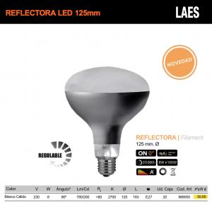 Bombilla Reflectora 125mm LED - LAES