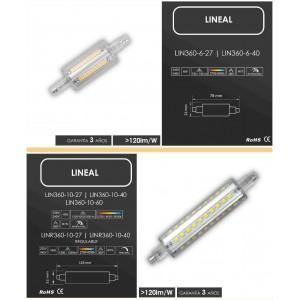Lineal LED 360º - LED BAY