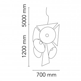 Ktribe S2 suspension - Flos