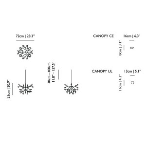 Heracleum II suspension - Moooi