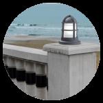 Sobremuros, strada luci per pareti, lampade di illuminazione esterna