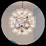 Ceiling lamps, suspension and pendants. Lamp shop