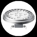 QR 111 LED, GU10, G53, or connection