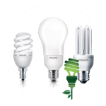 Light bulbs of low consumption and fluorescent
