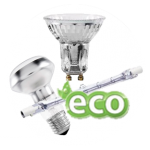 Light bulbs halogen bulb ECO type.