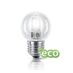 Spherical ECO bulbs halogen type