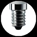 LED bulbs with E14 socket