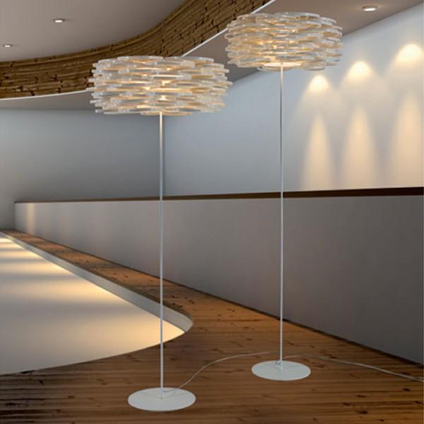 Demostración lámpara Aros pie de Arturo Álvarez